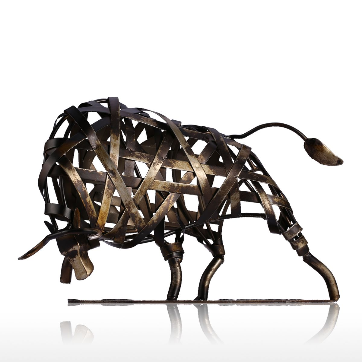 铁艺半圆球动物造型