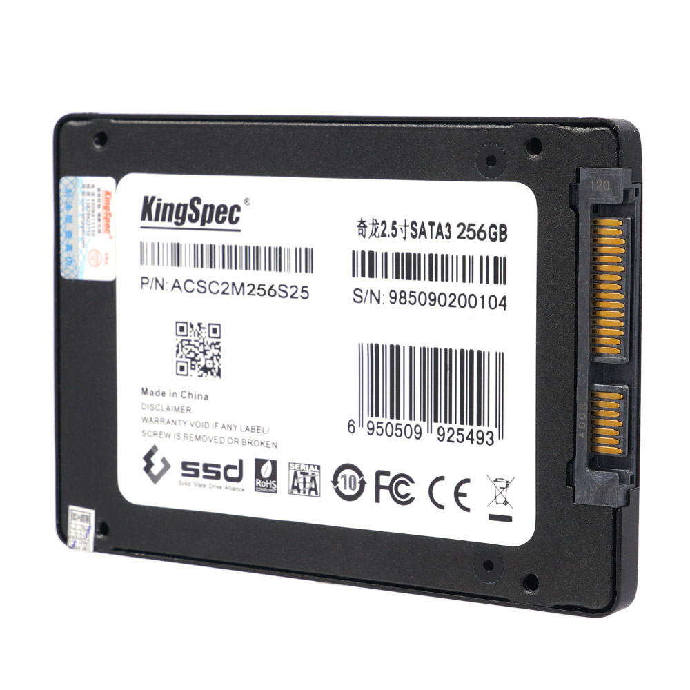 "KingSpec SATA 3.0 2.5"" 256GB MLC Digital SSD Solid State Drive for PC C2631"