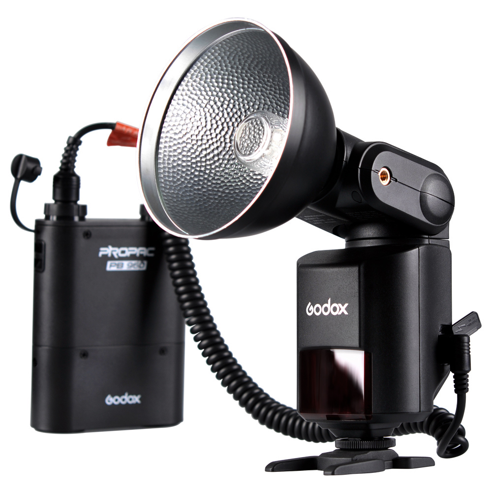 Godox Witstro AD360II-C TTL 360W GN80 External Powerful Portable Speedlite Flash Light Kit with 4500mAh PB960 Lithium Battery for Canon EOS Cameras