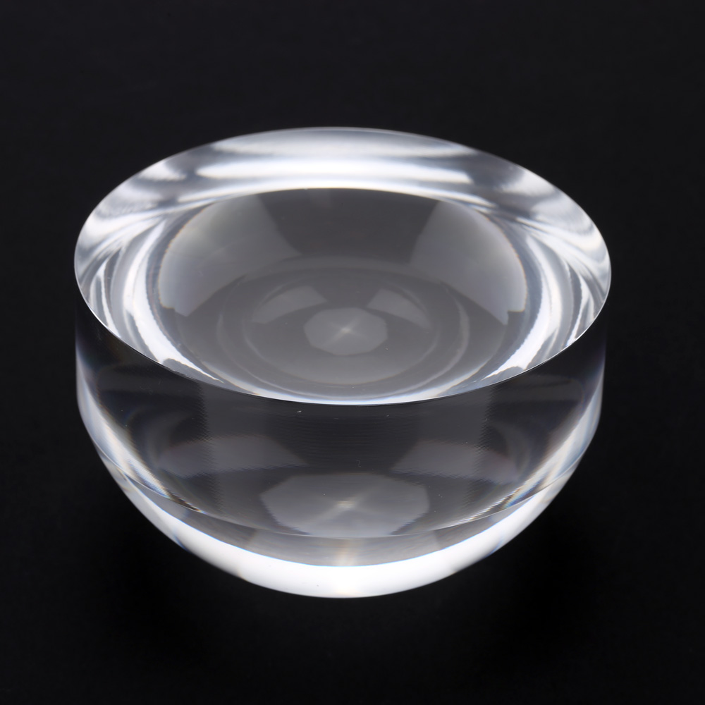 5x 80mm crystal acrylic dome magnifier paperweight map for Glass or acrylic