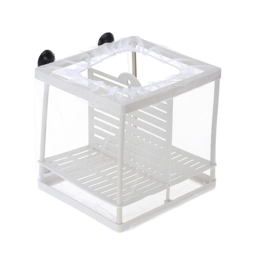 Aquarium fish tank fry net breeder breeding hatchery - This Fish Incubator Isolation Net Is A Good Tool To Breed Baby Fish It Also Can Help Isolate Diseased Fish Injured Fish Big Tropical Fish And Aggressive