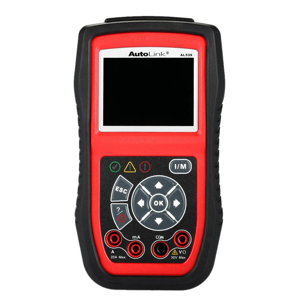 Autel AL539b OBD OBDII Auto Diagnostic Scanner Car Scan Engine Inspection and Fault Code Reader Diagnostic Tool