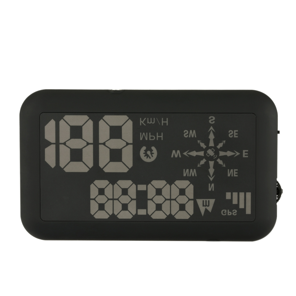 Universal GPS Car HUD Head Up Display KM/h & MPH Speeding Warning Windshield Project System K3389