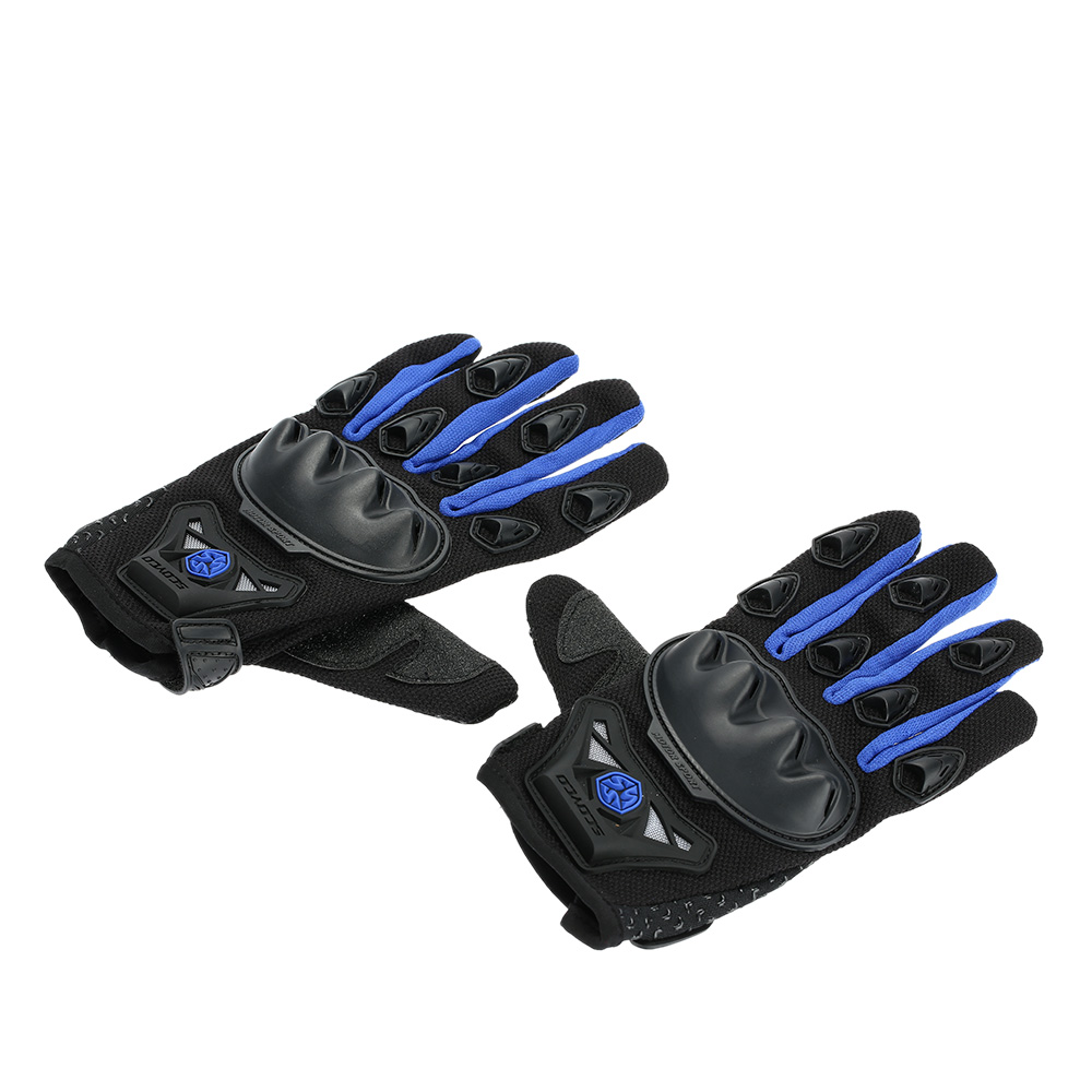 Scoyco MC29 Full Finger Motorcycle Cycling Racing Riding Protective Gloves K3051BL-L