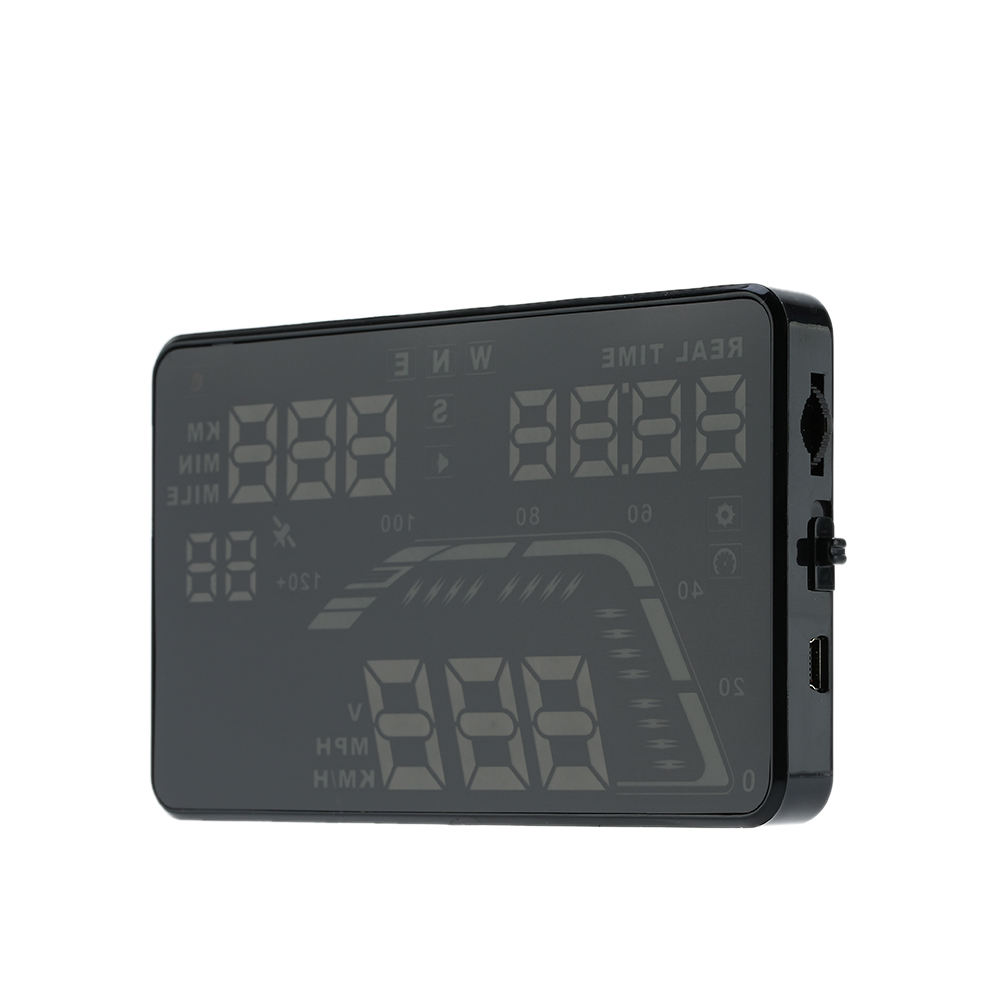 Universal Car HUD Head Up Display KM/h & MPH Speeding Warning Windshield Project System