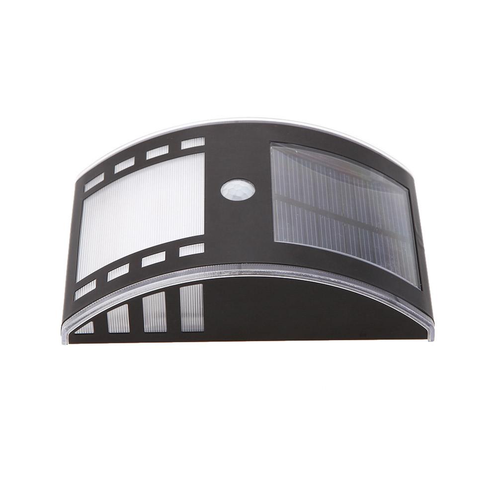 solar wireless pir motion light sensor home door entrance. Black Bedroom Furniture Sets. Home Design Ideas