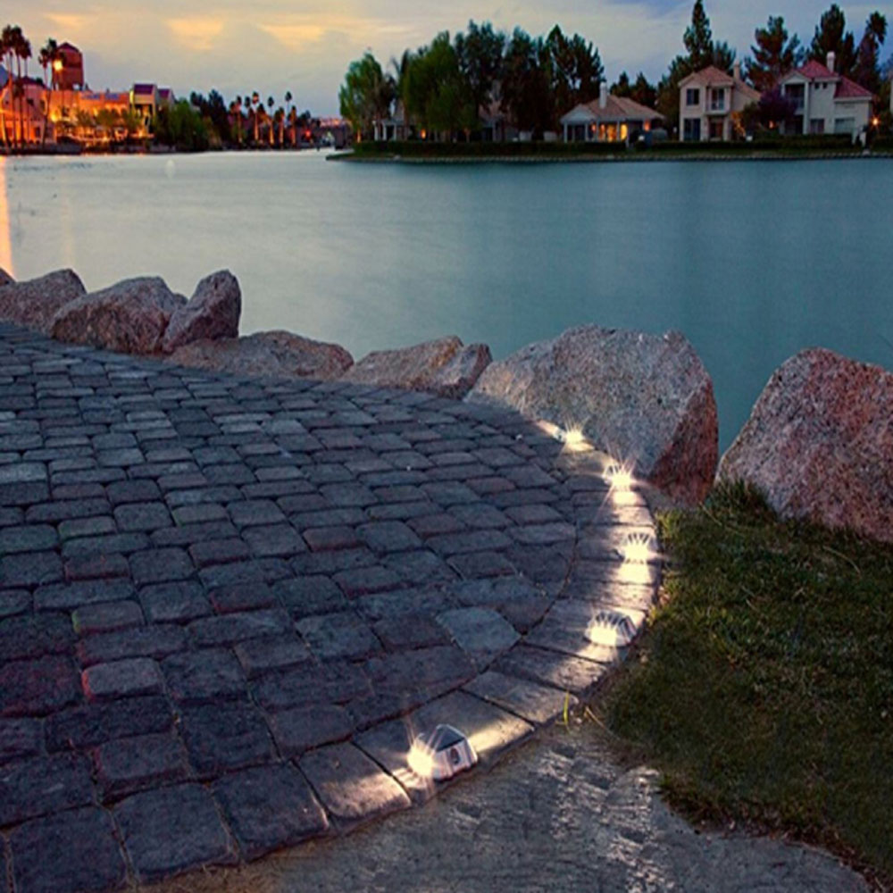 5 Pathway Lighting Tips Ideas Walkway Lights Guide: 8 Pack Solar LED Pathway Driveway Lights Dock Path Step