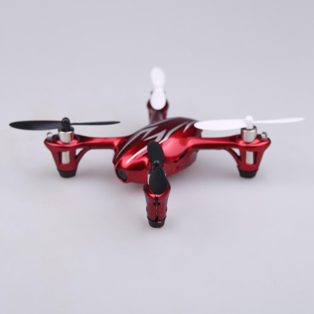 100% Original Hubsan X4 H107C 2.4G 4CH RC RTF Quadcopter Toys W/ HD 2MP Camera Red & Silvery (Hubsan X4 Quadcopter;Hubsan H107C Quadcopter)