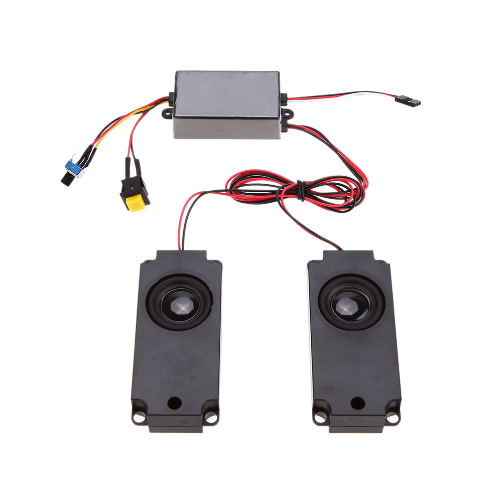 GoolRC Second Generation Cool Throttle Linkage Groups Engine Sound Simulator With 2 Speakers for R/C Sports Car