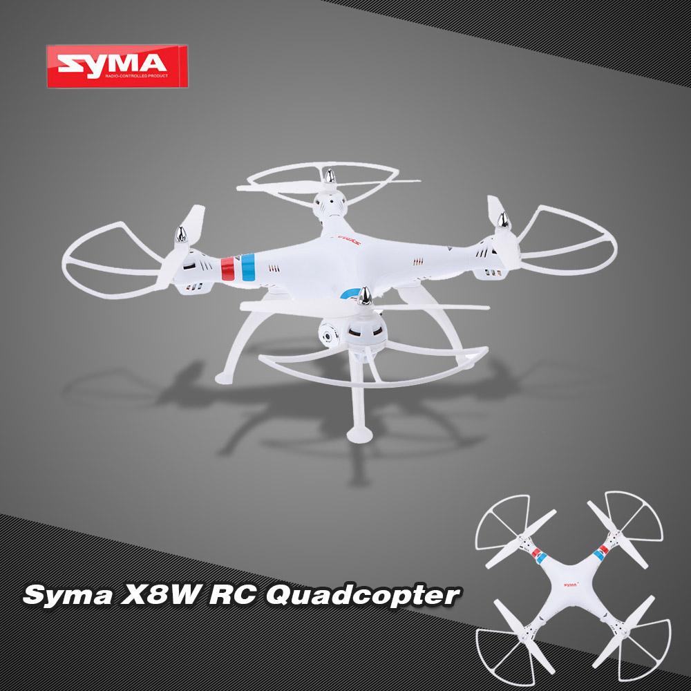 Original Syma X8W Wifi FPV 2.4G 6 Axis Gyro 4 CH RTF RC Quadcopter with 2.0MP HD Camera RTF