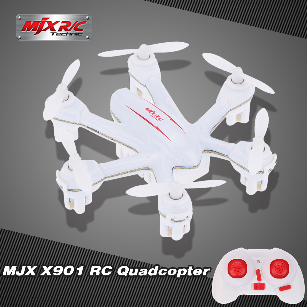 Original MJX X901 2.4G 4 Channel 6-Axis Gyro Nano Hexacopter Drone with Speed Toggle Switch/3D Flips and Rolls RTF RC Quadcopter