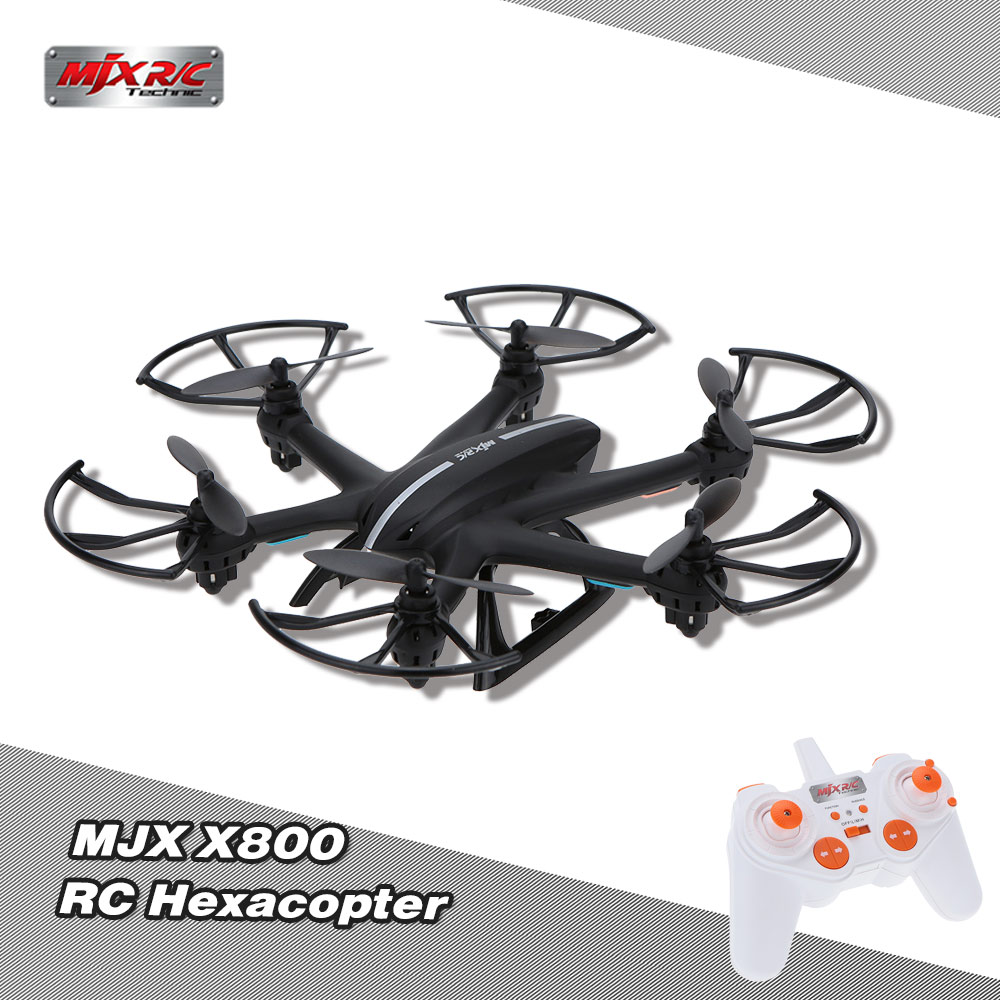 MJX X800 2.4G 6 Axis Gyro One Key 3D Roll Gravity Sensor RC Hexacopter