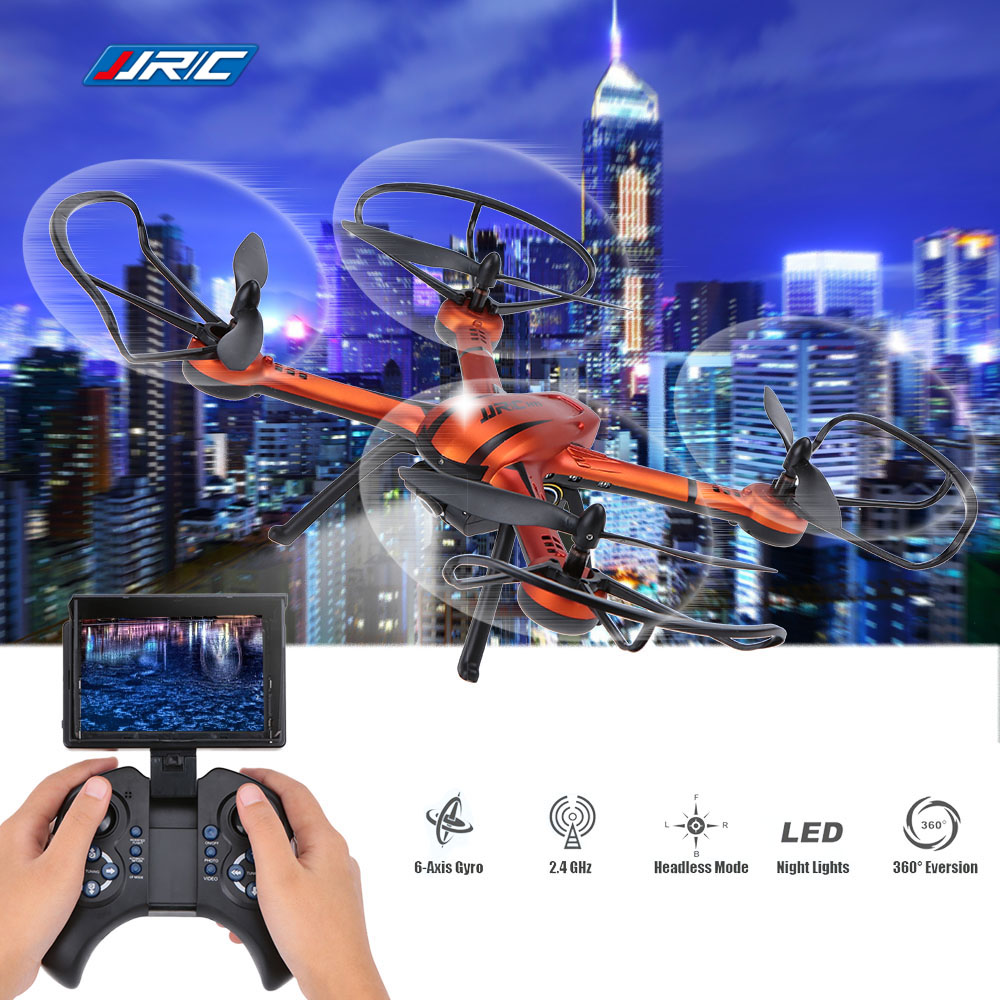 Original JJRC H11D 2.4G 4CH 6-Axis Gryo 5.8G FPV Real-time 2MP Camera Professional Drone RC Quadcopter