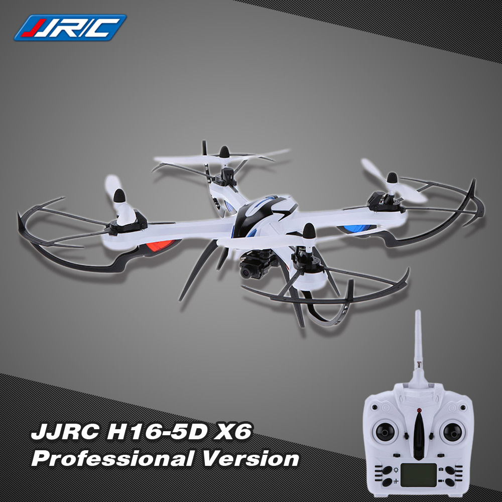 Original JJRC H16-5D X6 Professional Version 2.4G 4CH Digital 6-Axis Gyro RC Quadcopter RTF Drone with Hyper IOC function and Wide Angle 5.0MP Camera