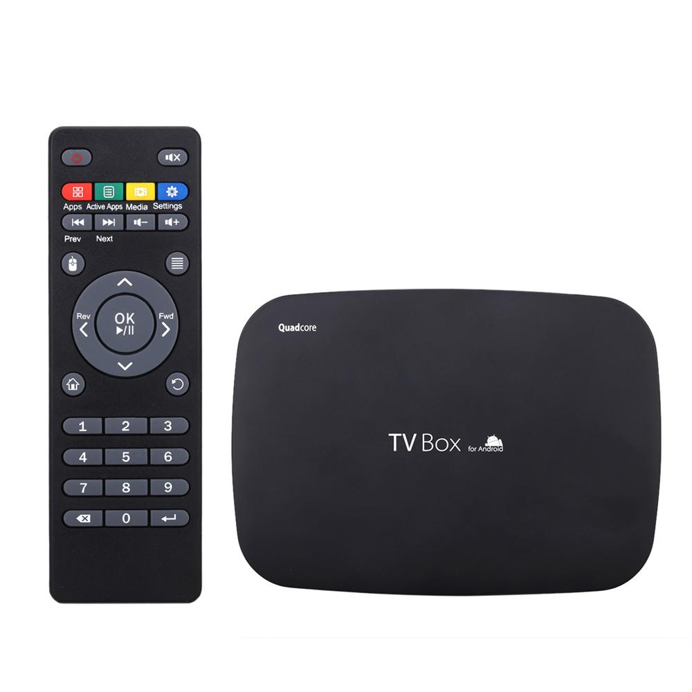 Q400 Smart Android 4.4 TV Box Amlogic S805 Quad-core Cortex A5 * 4 CPU@1.5GHz 1G / 8G Miracast XBMC Airplay DLNA H.264 / H.265 Dual Band Wi-Fi 2.4GHz V1136B-US
