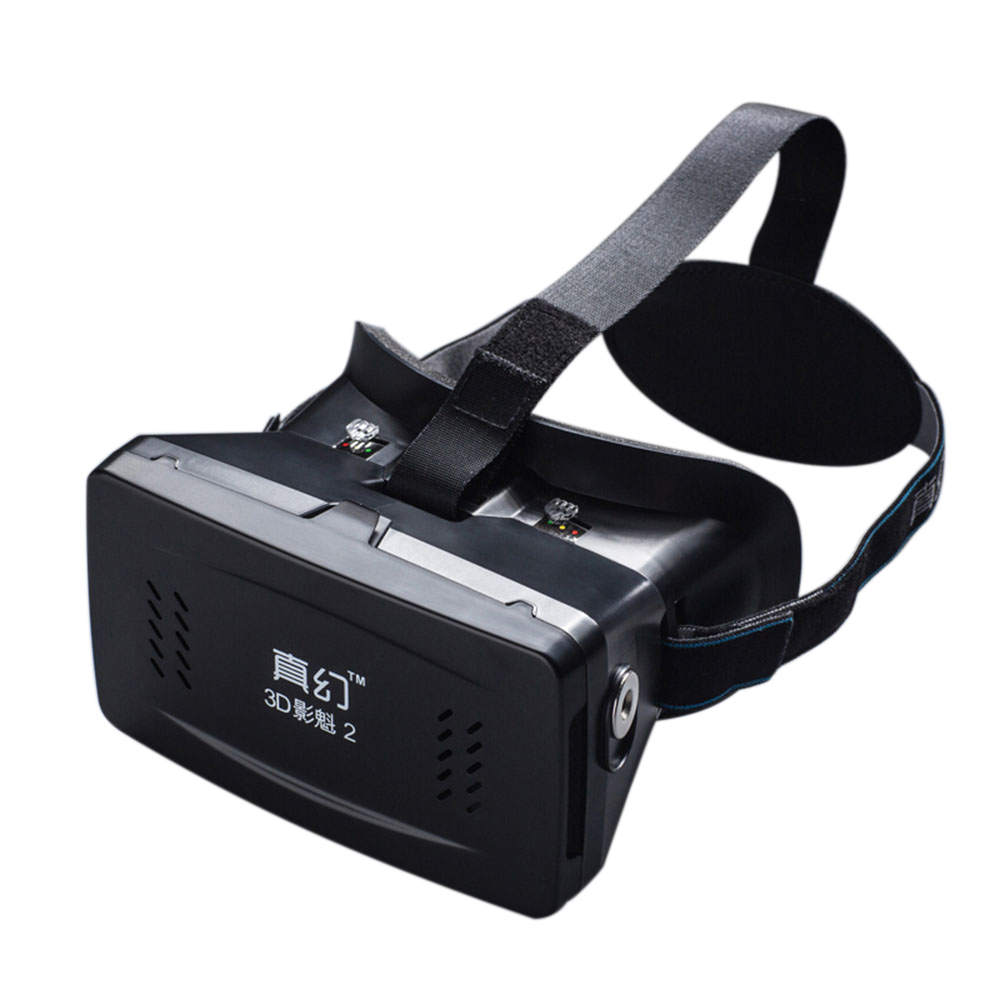 "Best-selling Private 3D VR Glasses Virtual Reality DIY 3D Video VR Glasses with Magnetic Switch Hand Belt for All 3.5 ~ 6.0"" Smart Phones V1409"