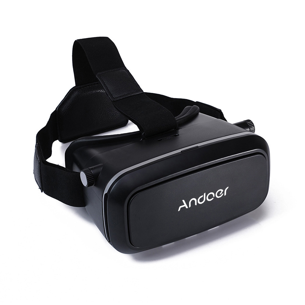 Andoer CST-09 Version 3D VR Glasses Virtual Reality DIY 3D VR Video Glasses Movie Game Glasses Head-Mounted 3D Glasses with Headband with MB-852 Mini V1463