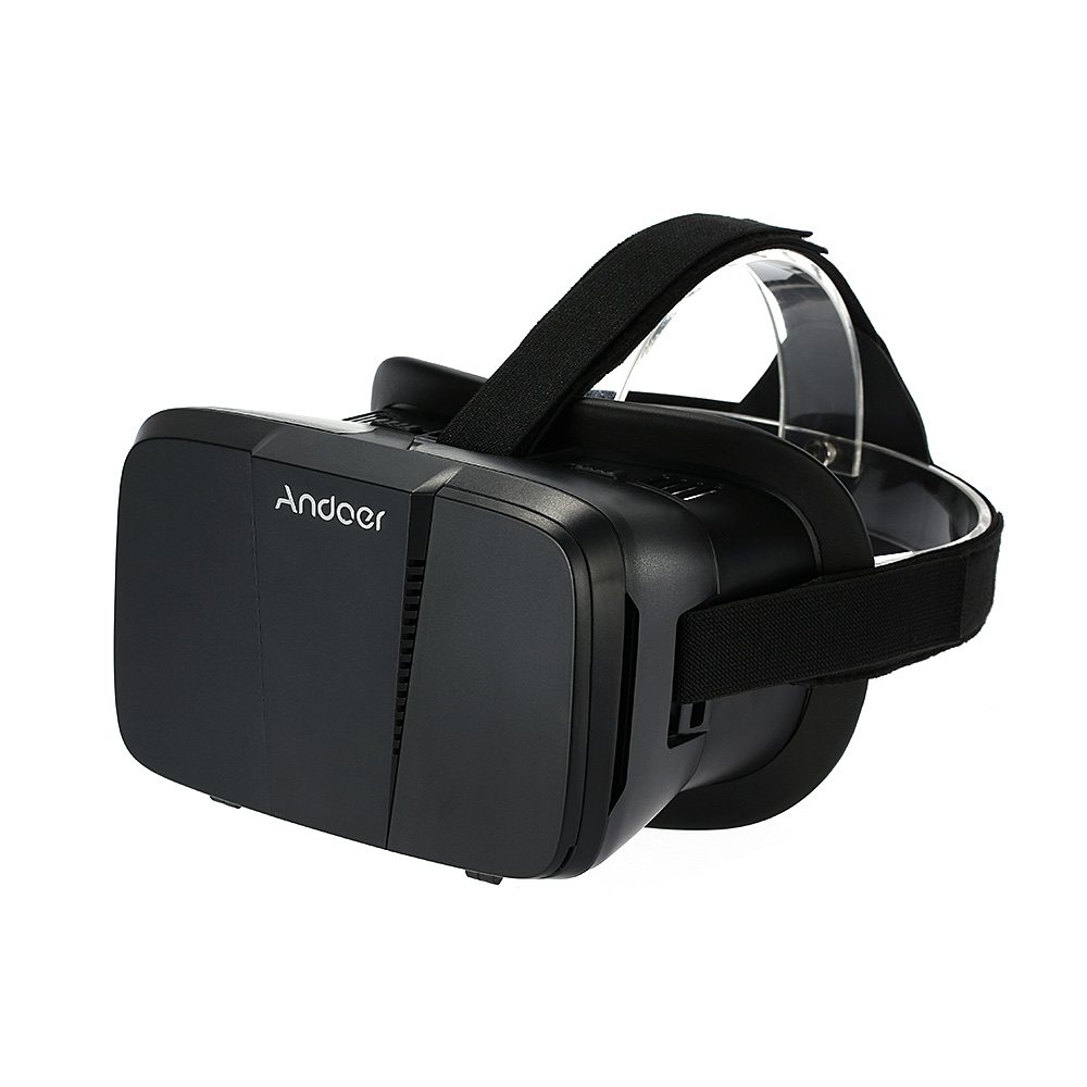 "Andoer Portable 3D VR Glasses Virtual Reality VR Head Mount With Headband VR For All 3.5""~6.0"" Smartphone For iPhone 6 6Plus Samsung S6 S5 Note 4 3 V1504"