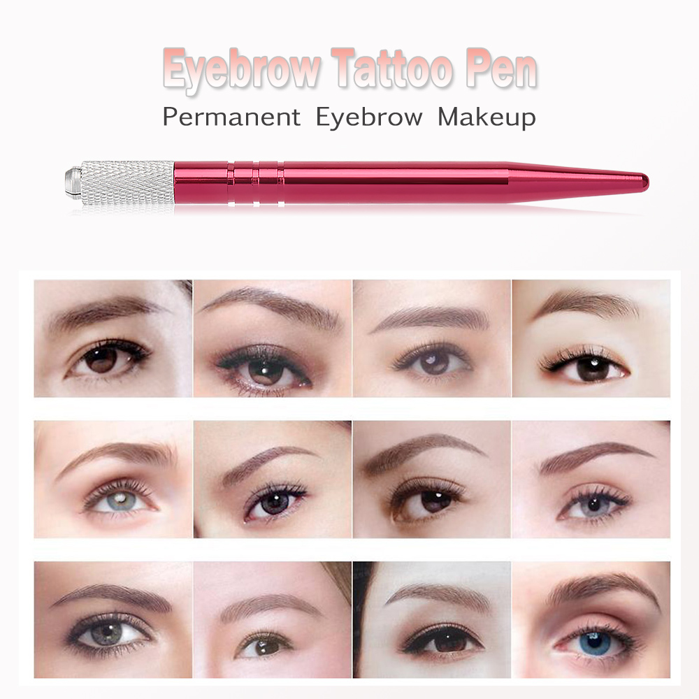 Manual eyebrow tattoo pen permanent makeup microblading for How is microblading different to tattooing
