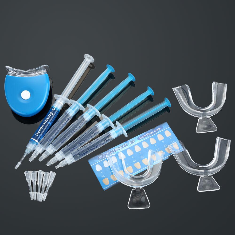 Dental Equipment Teeth Whitening Dental Bleaching System Tooth Whitener Whitening Gel Dental Trays Care Whitening Home Kit Teeth Tools W1347