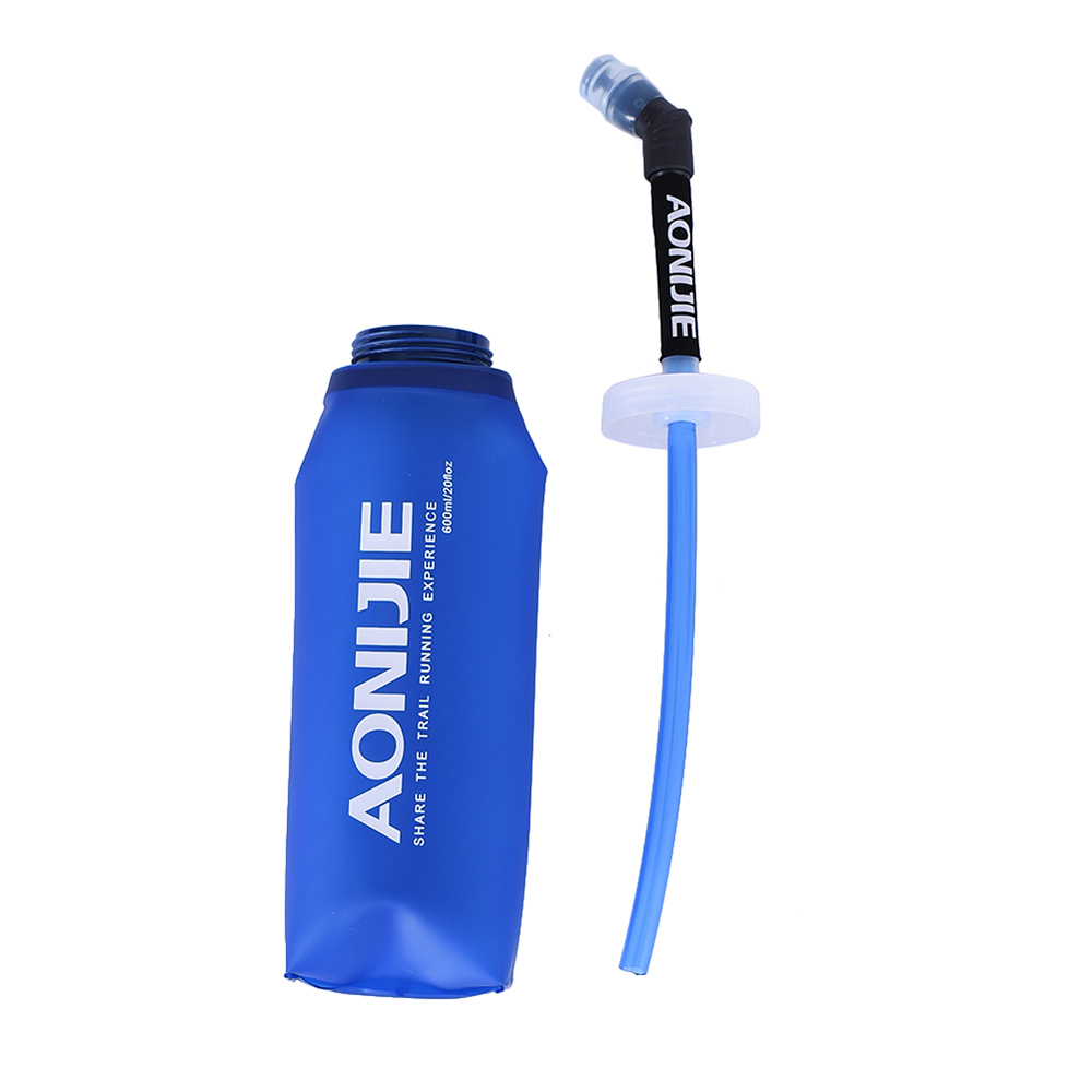Collapsible BPA Free Soft Running Water Bottle Soft Flask Hydration Bottle A8W2 eBay