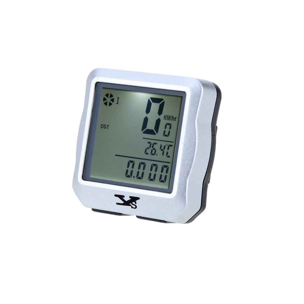 Wireless Bike Bicycle Cycling Computer Odometer Speedometer Stopwatch Backlight Backlit Water-resistant Multifunction Y1193S
