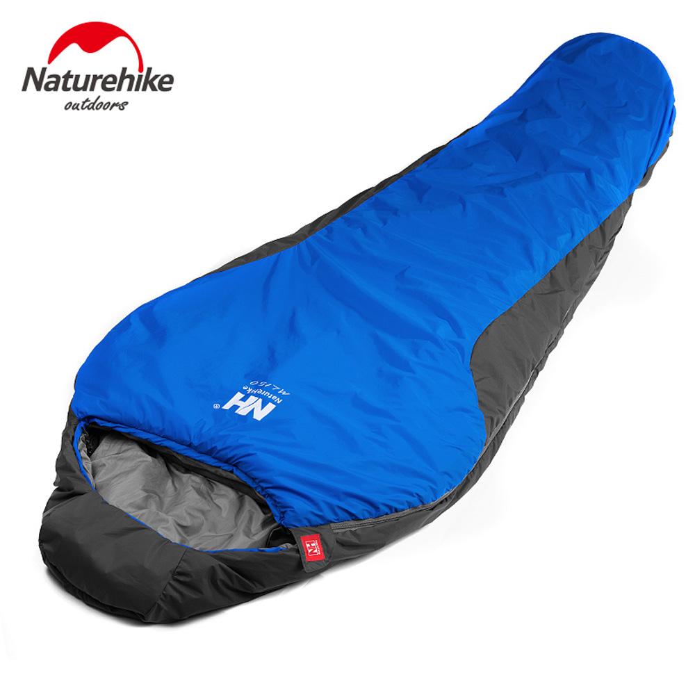 210 * 83cm Naturehike Portable Outdoor Camping Sleeping Bag for Spring Summer Autumn