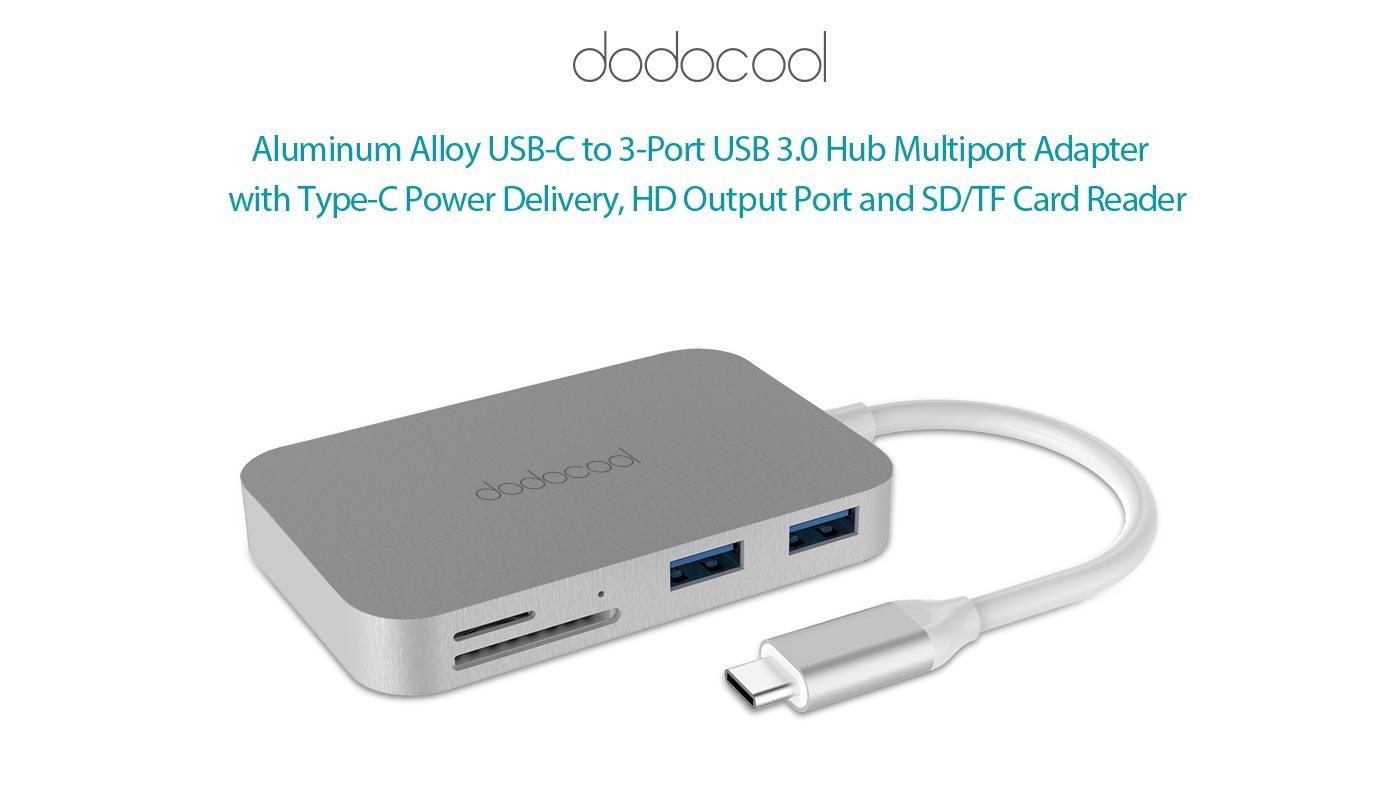 Aluminum Alloy 7-in-1 USB-C Hub