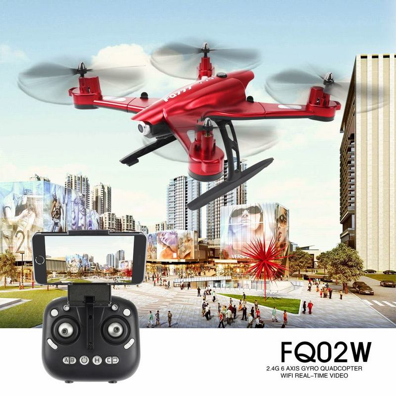 $10 Off FQ777 FQ02W Wifi FPV Transform Robot Shape RC Quadcopter,free shipping $55.99