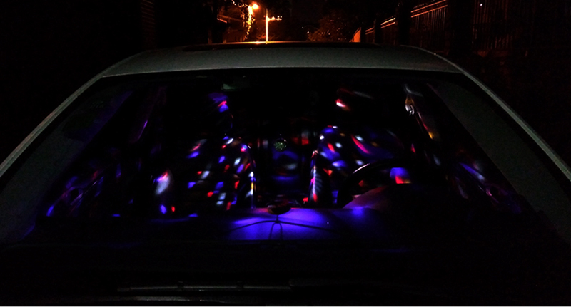 Car DJ Light Music Rhythm Sound Activated Effect 5V LED ...