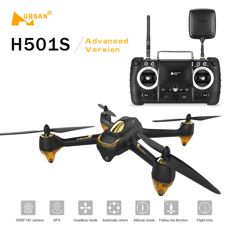 $34 Off Hubsan X4 H501S H501SS 5.8G FPV Brushless Advanced Version RC Quadcopter,free shipping from CN Warehouse $241.99