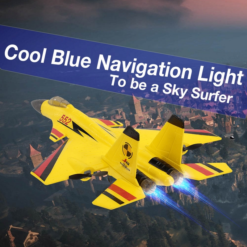 Shop FX-861 2 4G 2CH 480mm Wingspan Remote Control Fighter