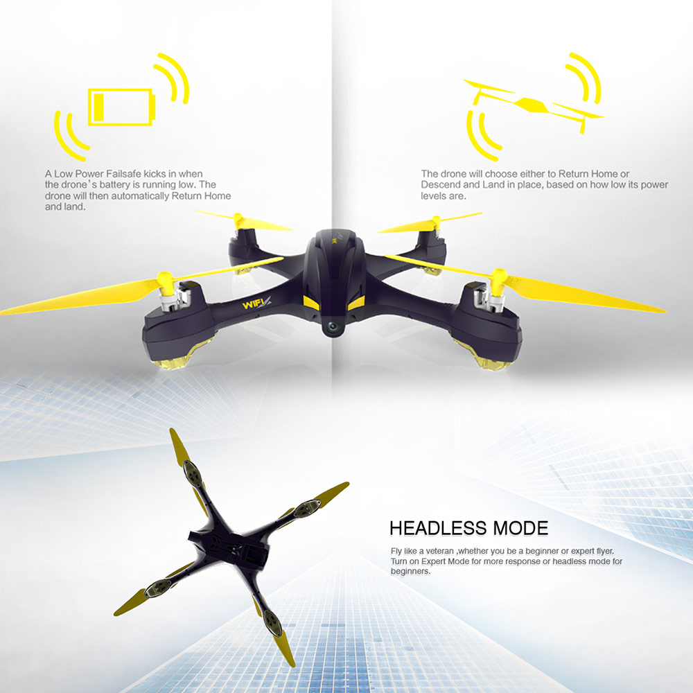Exrta 3% Off For Hubsan H507A 720P RC Drone