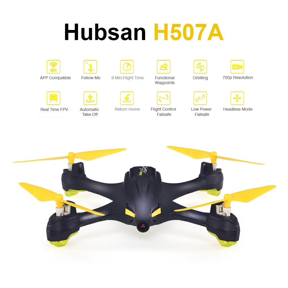 Hubsan H507A por 89 euros