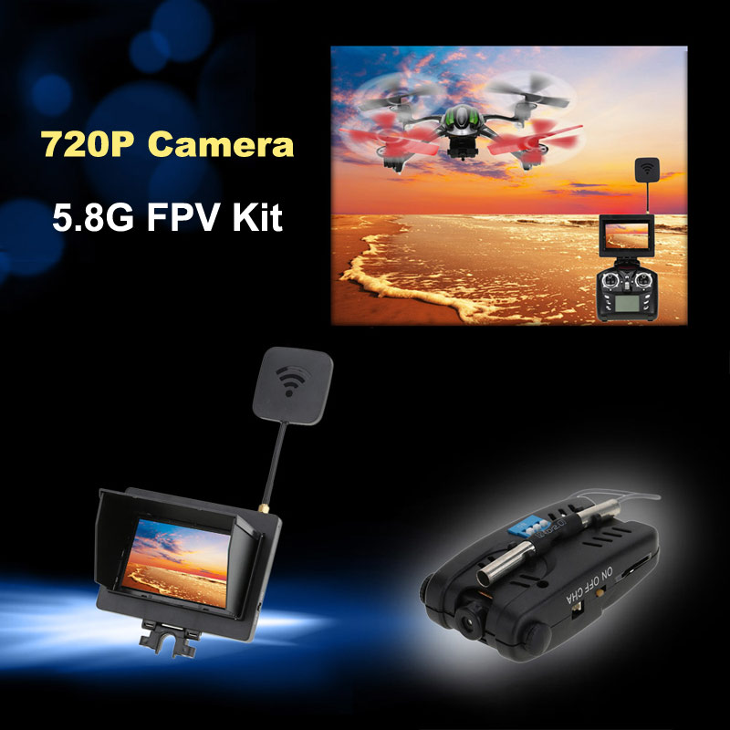 $5 off for 5.8G FPV Real-time Transmission 720P Camera Kit USD$44.12