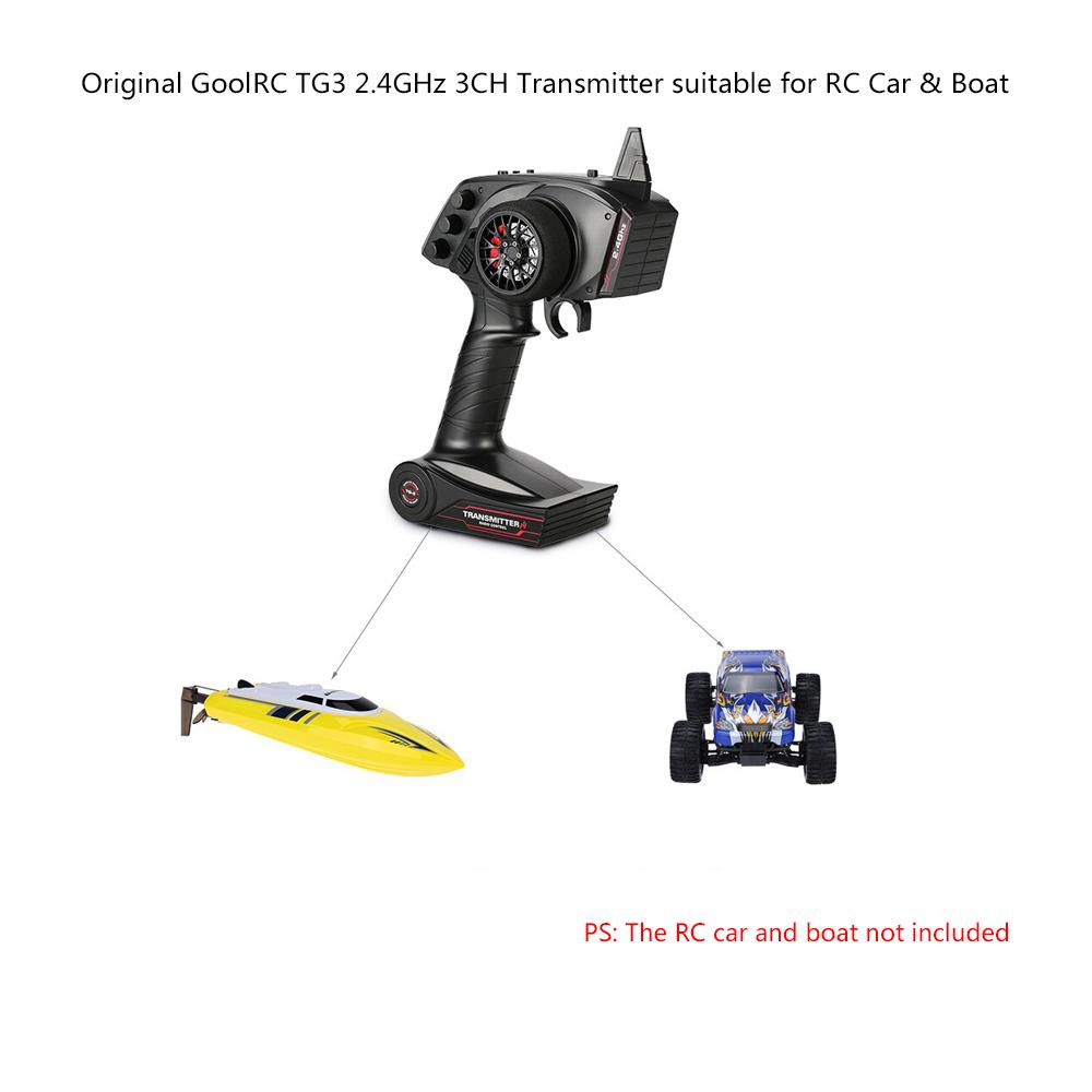 Original GoolRC TG3 2.4GHz 3CH Digital Radio Remote
