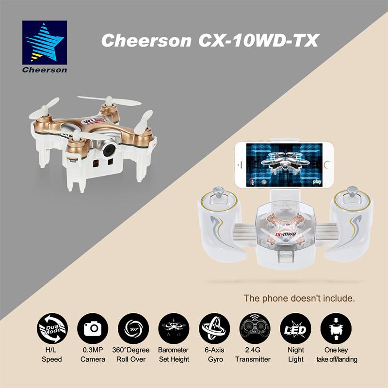 $3 off for Original Cheerson Mini Drone With 0.3MP Camera USD$41.99