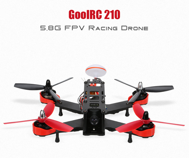 $5 off for GoolRC 210 5.8G FPV RC Racing Drone USD$154.99