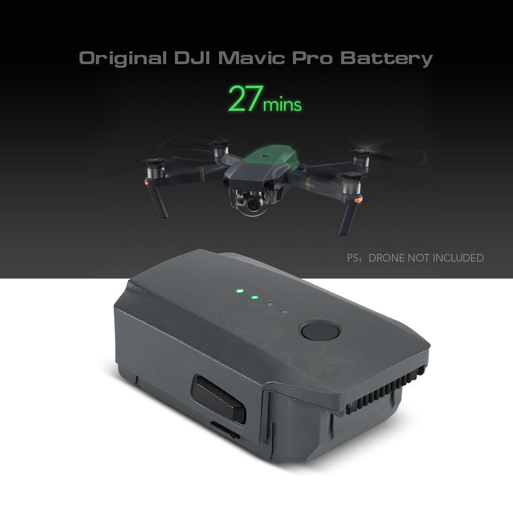 $20 Off Original DJI Mavic Part 26 11.4V 3830mAh 3S Intelligent Flight Battery for DJI Mavic Pro FPV Drone,limited offer $69.99