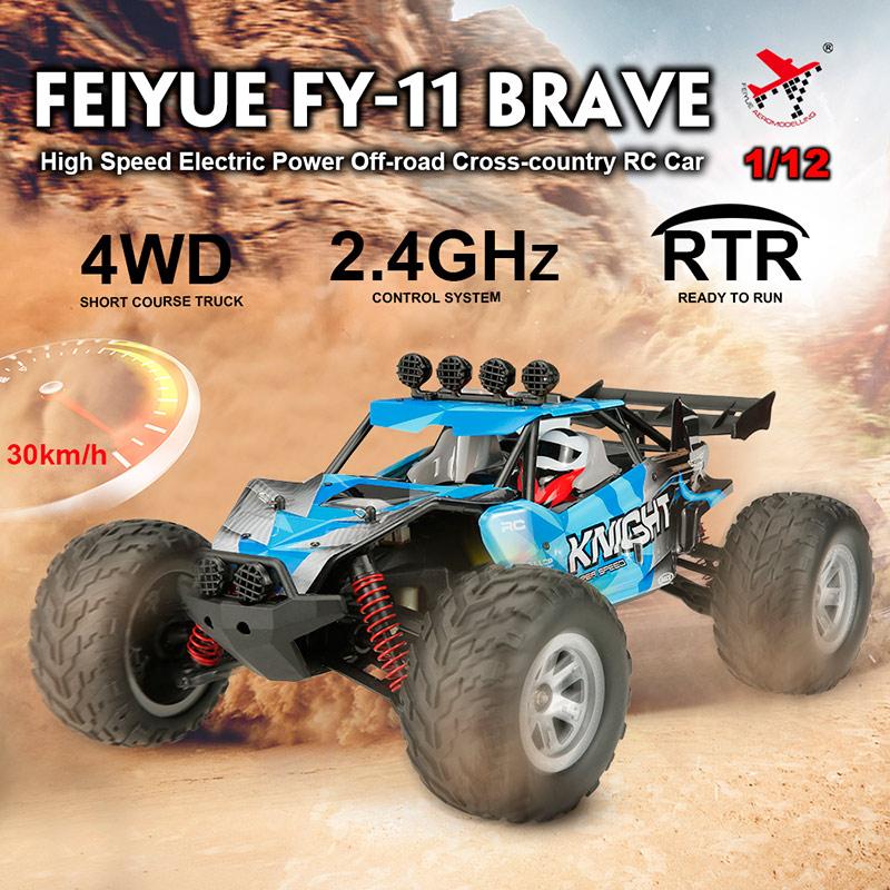 Shop Feiyue FY-11 BRAVE 1/12 2 4G 4WD 30km/h High Speed / CRAZON 1