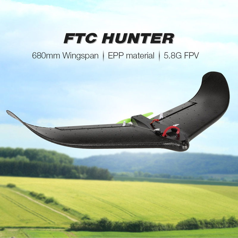 Shop FTC HUNTER 680mm Wingspan 800TVL 150° Wide Angle Camera EPP