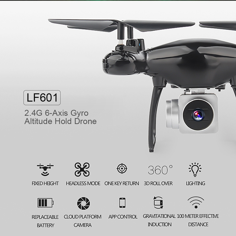 Shop LF601 Wifi FPV 0 3MP Camera 6-Axis Gyro Altitude Hold Headless