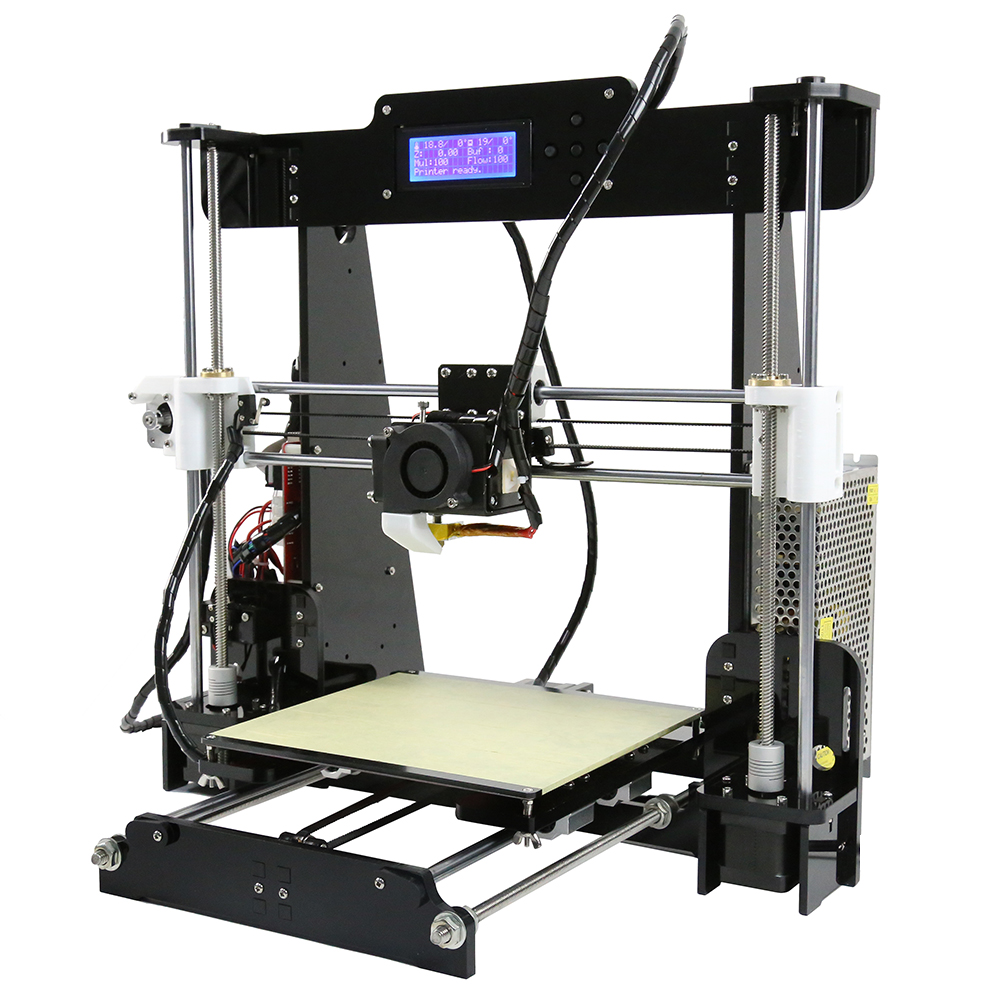Details about Anet A8 High Precision Desktop Auto Level 3D Printer  Kit+1Roll Filament+8GB Card