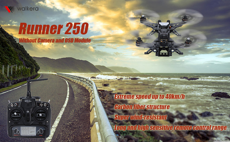 Get 120 USD Off For Walkera Runner 250 RC Quadcopter with code  Only $139.99