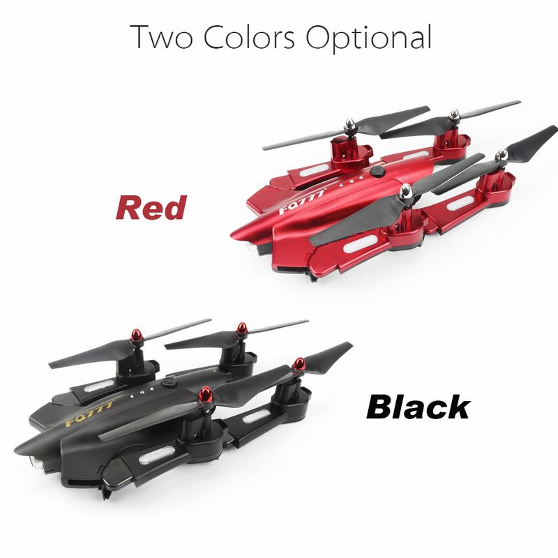Get 10$ off  FQ777 FQ02W 0.5MP Camera Wifi FPV Foldable Transform Robot Shape drone