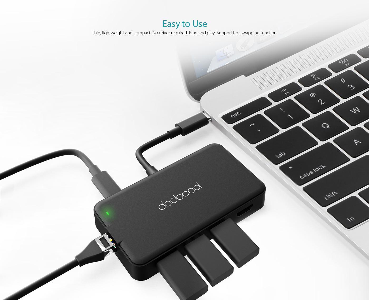 7-in-1 Multifunction USB-C Hub - dodocool com