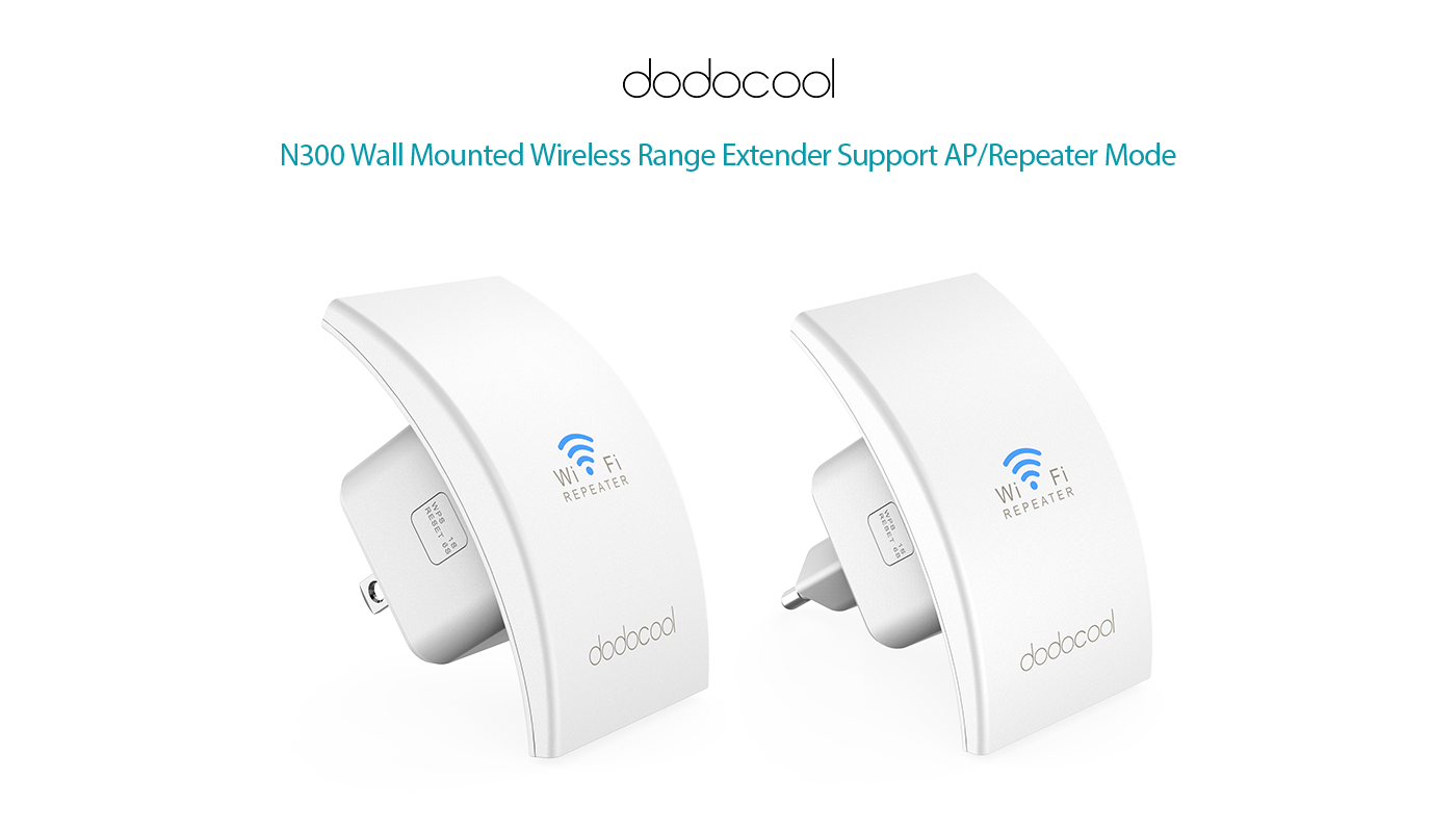 n300 wall mounted wireless range extender