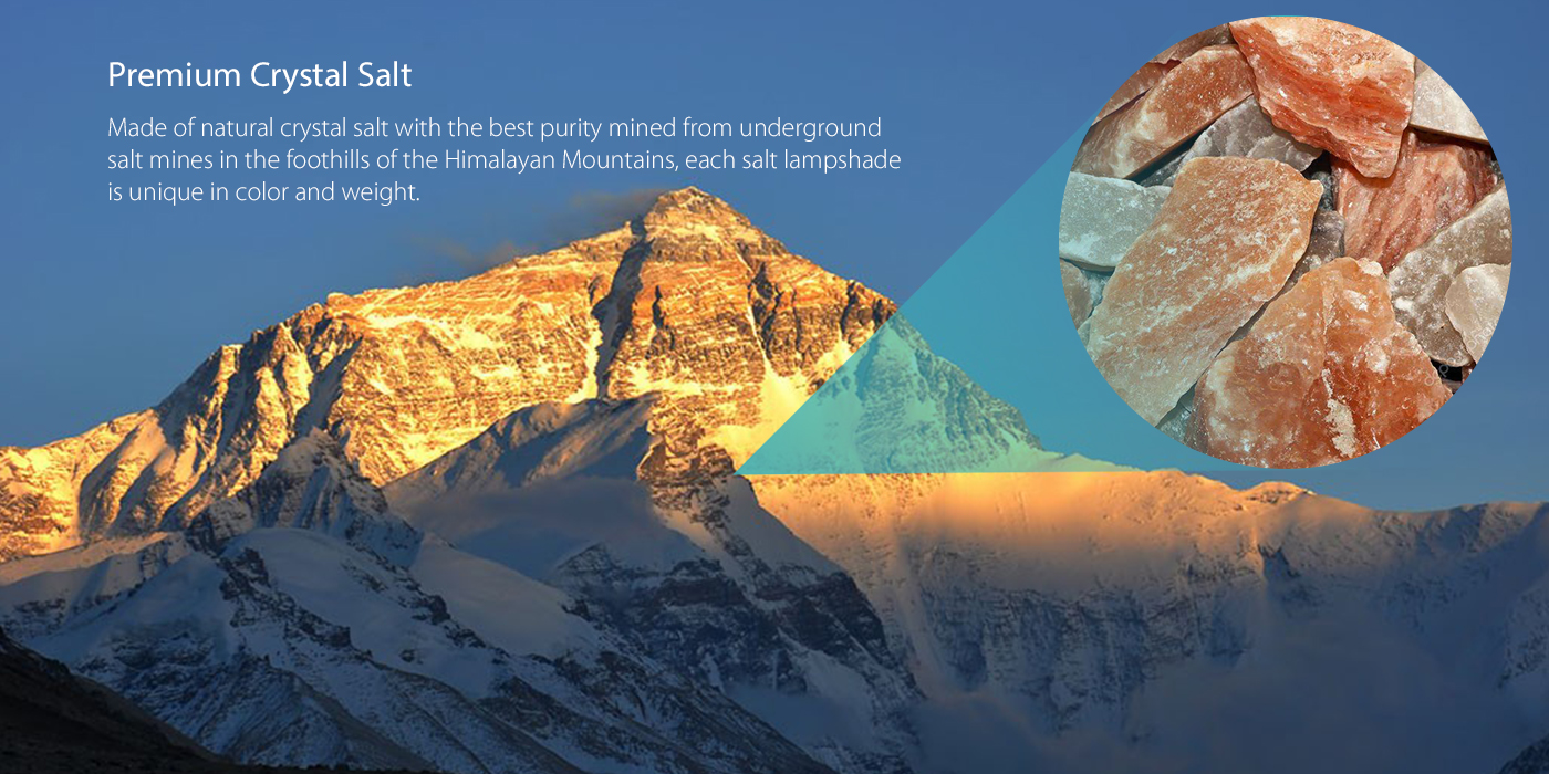 Yellow Natural Crystal Himalayan Salt Lamp Dodocool Com
