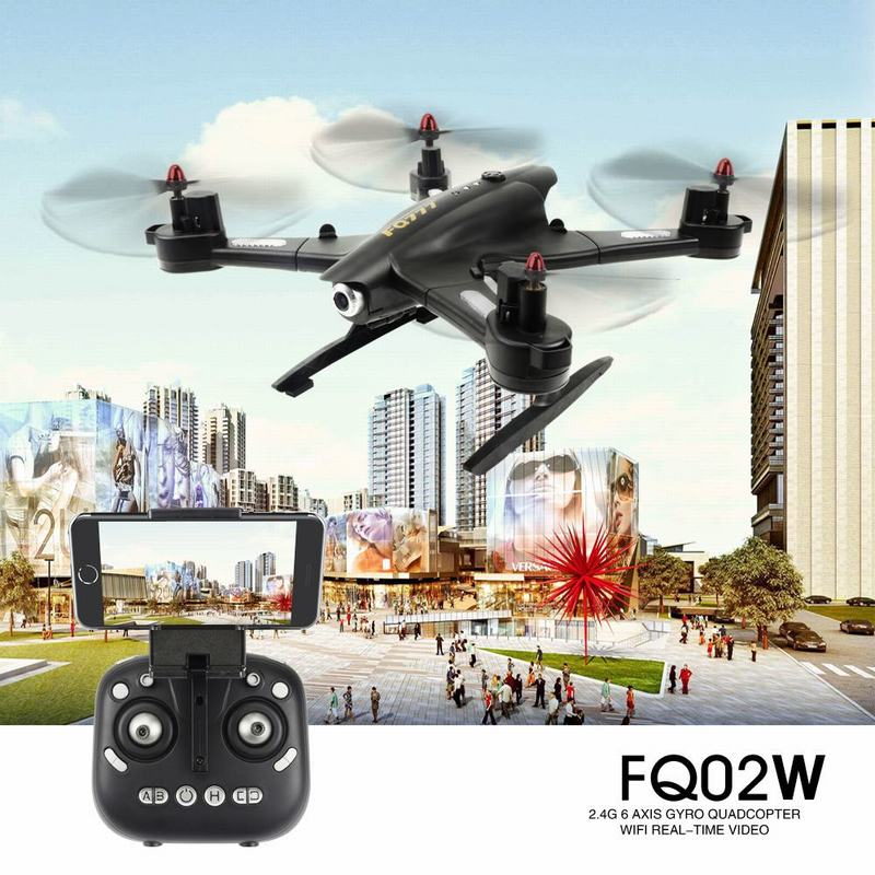 Only $54.99 For FQ777 FQ02W 0.5MP Camera Foldable Transform Robot Shape 4CH 6-Axis Gyro Drone with code EJ7981