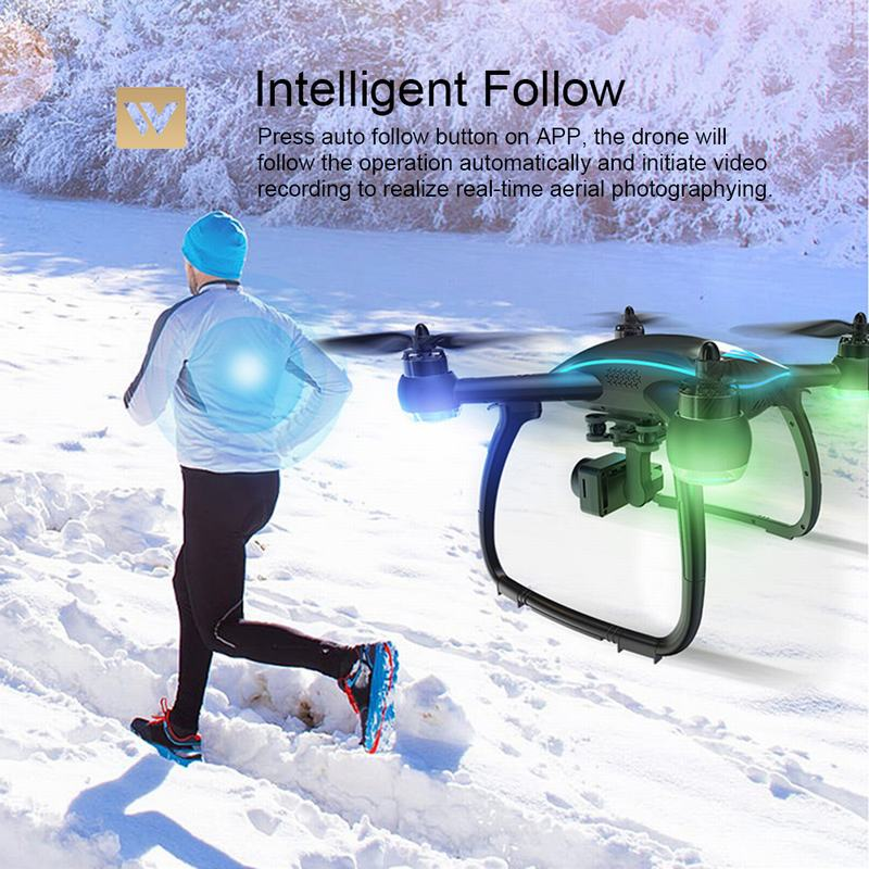 ATTOP W GPS RC Drone with Camera 1080P Quadcopter